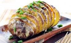 Sarımsaklı Fırın Patates Tarifi